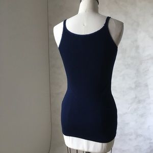 Anthropologie Tops - MICHAEL STARS Rib Camisole Tank Top with Lace Edge